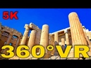 360° VR Propylaea Acropolis And Theatre of Dionysus Eleuthereus Athens 5K 3D Virtual Reality HD 4K