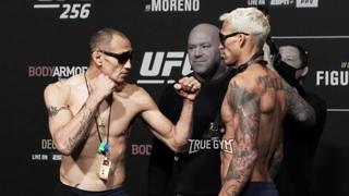 Тони Фергюсон против Чарльза Оливейра / Взвешивание и битва взглядов перед боем на UFC 256