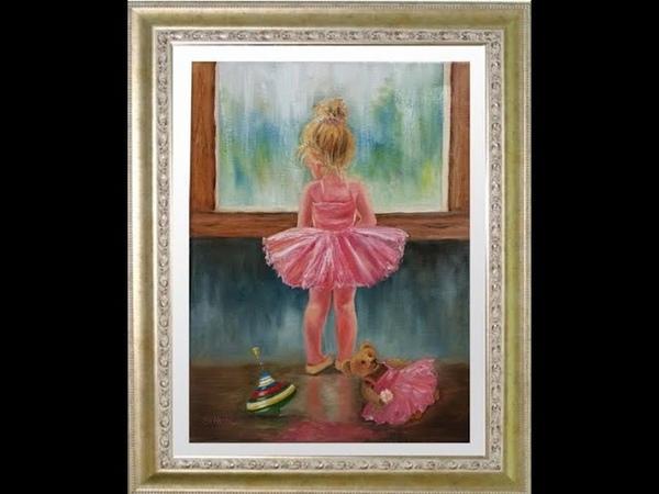 Как нарисовать красивую девочку балерину Как нарисовать красками красивую балеринку