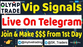 Olymp Trade Free VIP Singals || 100% Profits || Olymp Trade Best Strategy 2021 || MyLive Trading