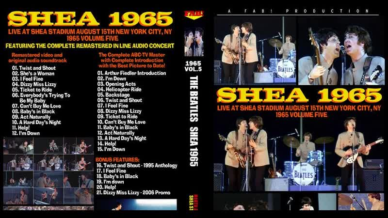 The Beatles - Can't Buy Me Love (Live At Shea Stadium 1965)