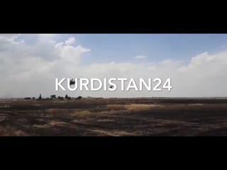 9 июня, Кобани. Момент подрыва.