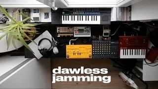 Neutron - Dawless Jam - Dub Techno with Behringer TD-3, Volca Sample & Keys, Monologue & Casio SA-20