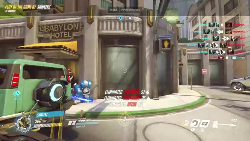 Ive peaked as Rein with this painless 6 kill