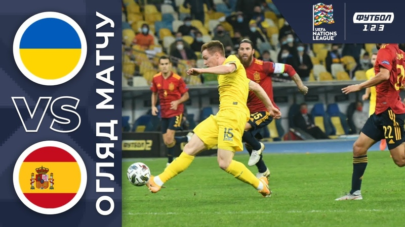 Украина - Испания - 1:0. Обзор матча 13.10.2020