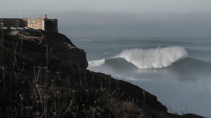 Самые большие волны в Португалии