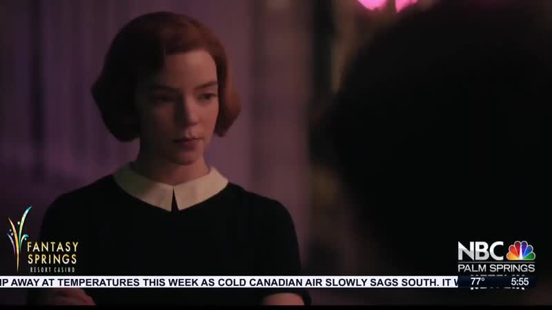 Интервью Онлайн интервью для Entertainment Studios в рамках промо фильма Ход королевы октябрь 2020 г