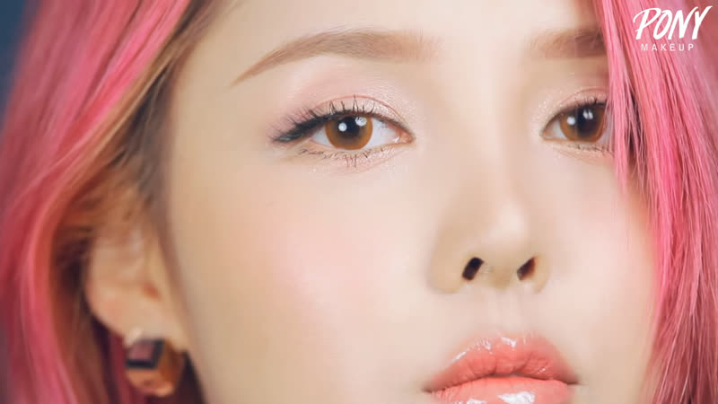 2015-09-25 - Girlish Pink Make up (With subs) 소녀 핑크 메이크업