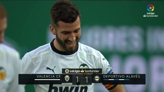 Resumen de VALENCIA CF vs Deportivo Alavés (1-1)