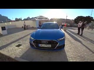 Ауди А7 2019! Панамера и CLS нервничают! Обзор и тест-драйв с Павлом Блюденовым. Audi A7 55 TFSI