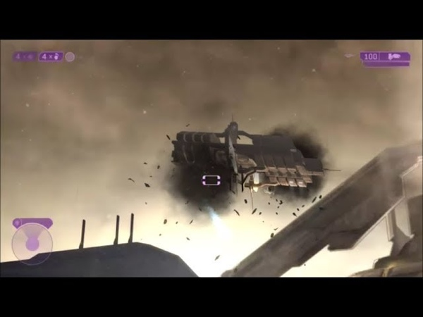 Halo 2 - Who Actually Shot Down The Sentinel Factory?