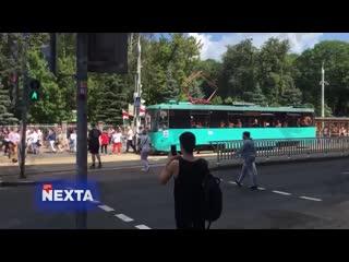 Жители Минска вышли на улицы [NR]