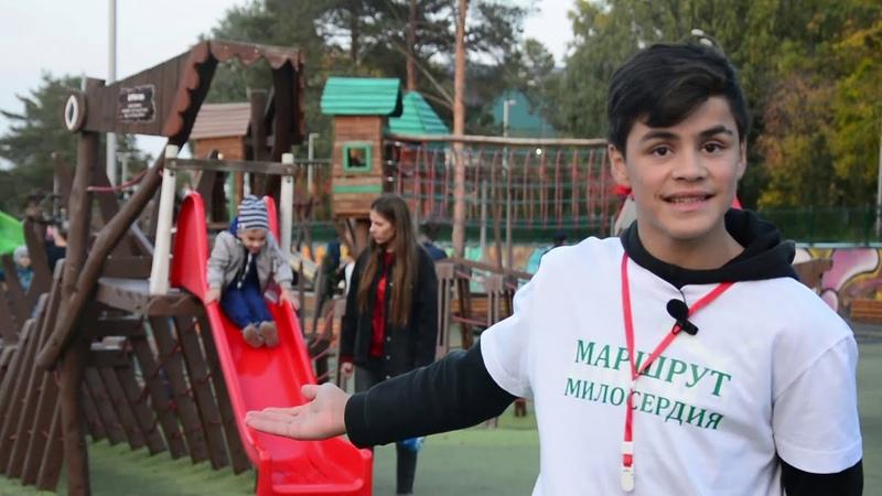 Маршрут милосердия Альметьевский детский дом