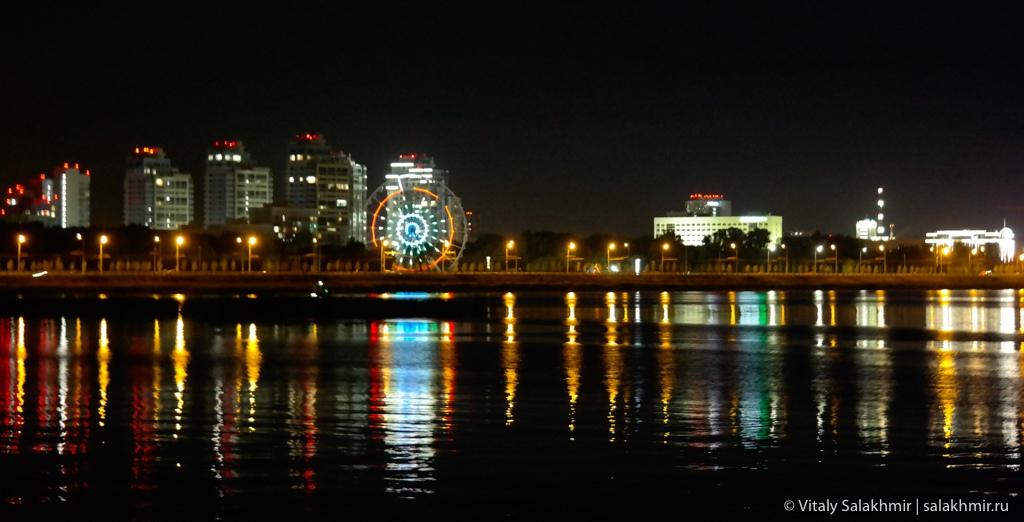 Набережная в Казани, путешествия 2020
