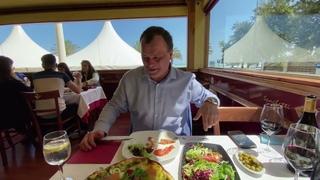 Обед в ИТАЛЬЯНСКОМ ресторане в ИСПАНИИ на берегу моря. ЖИЗНЬ В ИСПАНИИ как она есть. Где отдохнуть?