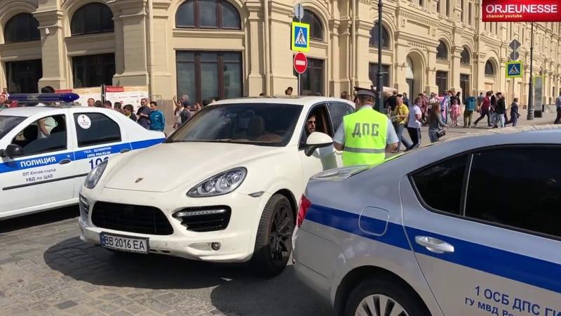 ДПС РФ Москва Встречка Лишение 12 15 4 на Красной Площади