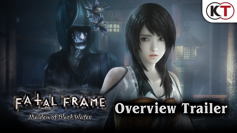 Fatal Frame Maiden of the Black Water Overview Trailer