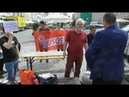Gespräche mit Bunt Demonstranten gegen Islamaufklärung in Straubing