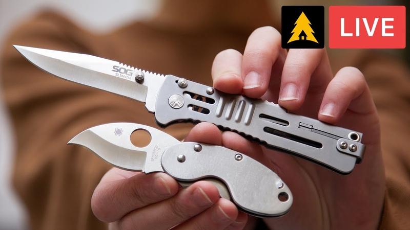 Часть №2 Самые странные ножи фирм Cold Steel Spyderco SOG Канал Forest Home Live