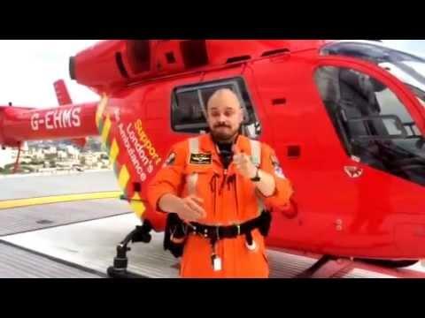1st deaf paramedic working on London's Air Ambulance