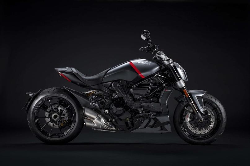 Линейка Ducati XDiavel 2021: повышение мощности и новые цвета