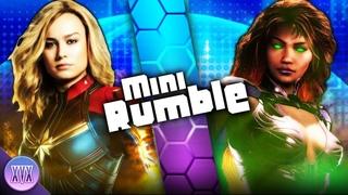 Captain Marvel VS Starfire (Marvel X DC)   XVX   Mini Rumble