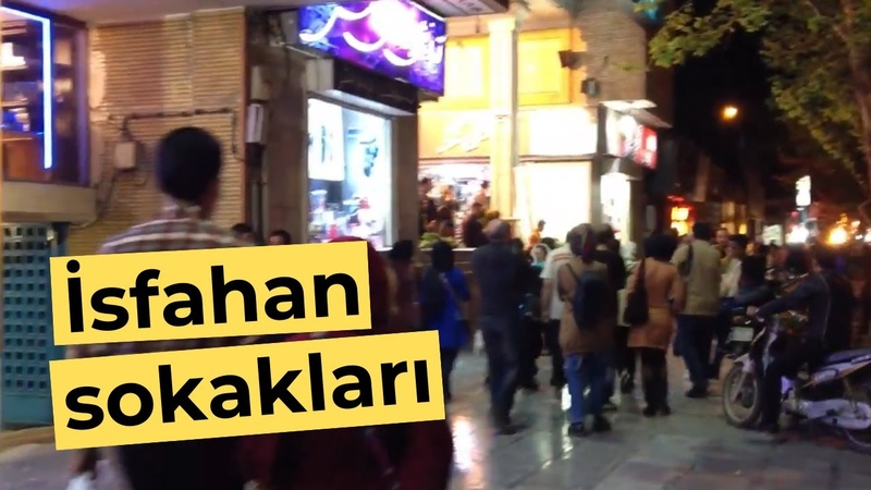 Isfahan Streets - Esfahan Streets - İsfahan Sokakları