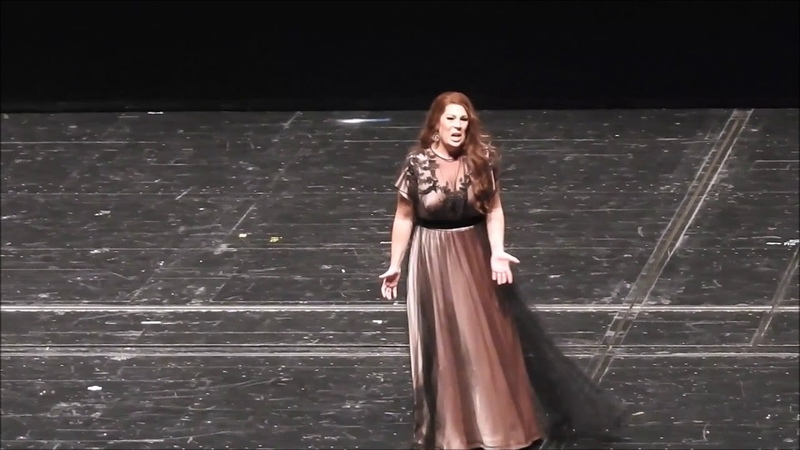 Sondra Radvanovsky. Leonora in Verdis Il Trovatore. III VI acts