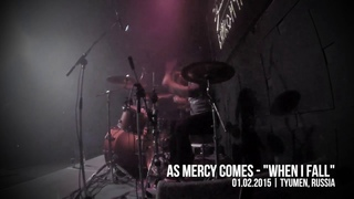 """[DRUMCAM] As Mercy Comes - """"When I Fall"""" @ Tyumen, Russia (01/02/2015)"""