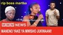 Maneno yake ya mwisho Boss Martha Cheka Tu, Baby Mama wake Mbosso wa WCB, akiwa jukwaani. Mapenzi!!