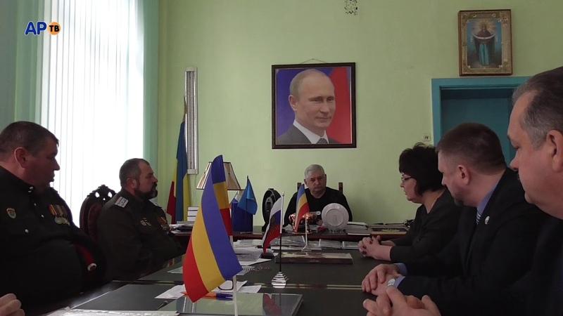 Атаман Козицын награжден медалью За участие в Чернухино Дебальцевской операции