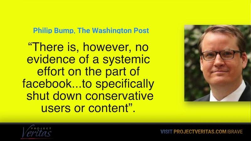 Wall of Shame: Phillip Bump of Washington Post Prints Correction on Veritas Facebook Investigation