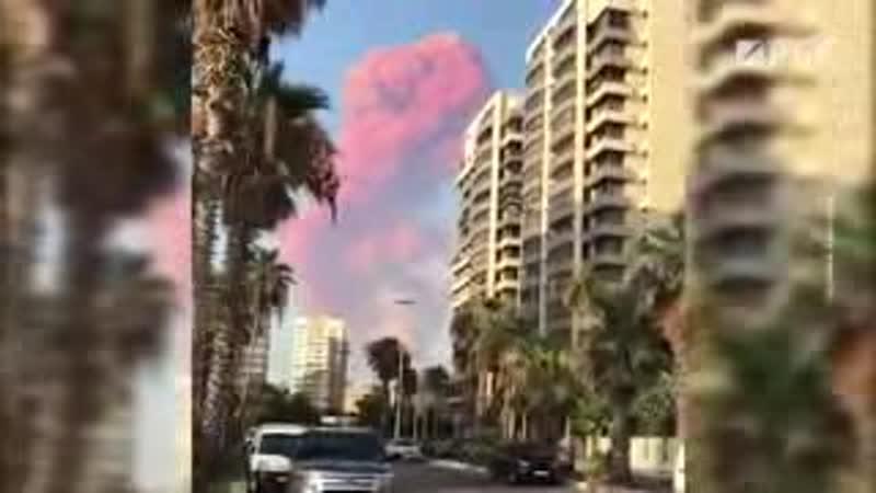 опять взрыв в порту бейрута
