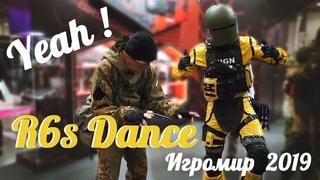 YEAH!!! R6s Dance on Igromir 2019