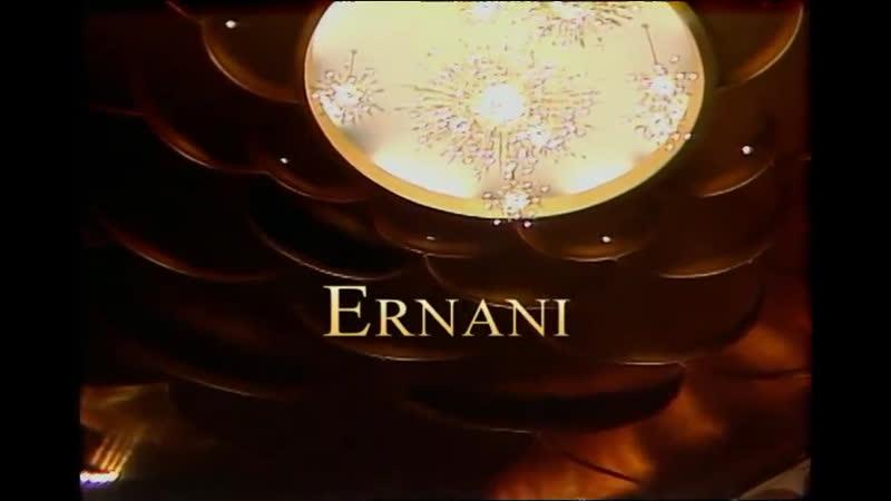Ernani Luciano Pavarotti Sherill Milnes Leona Mitchell Ruggero Raimondi Met Opera 1983