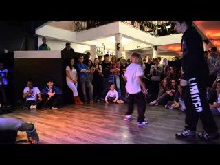 Smashing Beats: Revolution. Pre-Selection Break-dance B-Boy Lil-Snep VS B-Boy Monstera
