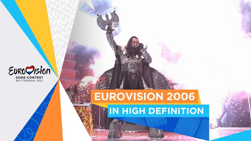 Watch Eurovision 2006 in HD for the very first time