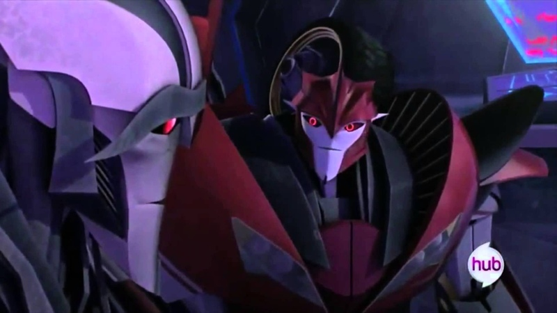 TFP Knock Out and Starscream Have a Moment