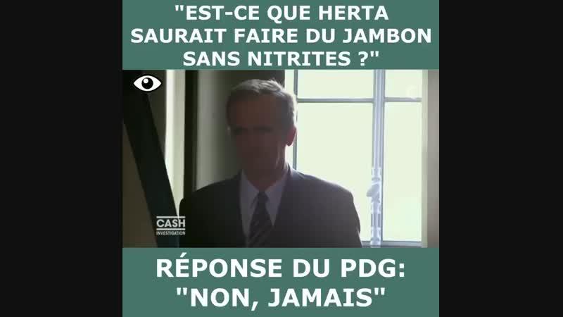 Arnaud De Belloy, PDG de Herta, affirme qu il ne peut pas faire de jambon sans nitrites, accusé de f.mp4
