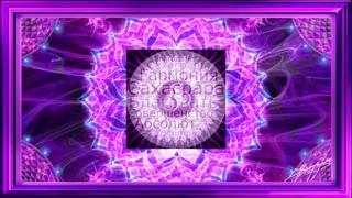 7 - Активация седьмой чакры - Сахасрары, с потоком энергии 4-измерения ()
